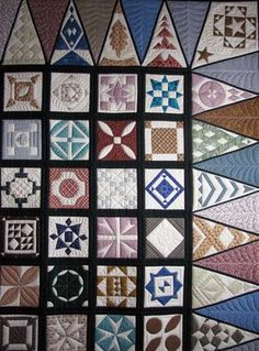 This is the first Dear Jane quilt I have quilted and although Ialways appreciate Betty's good workmanship, I am not in a hurry to do ...