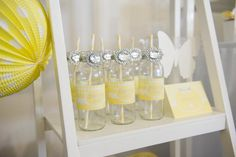 Bright Yellow and White Party