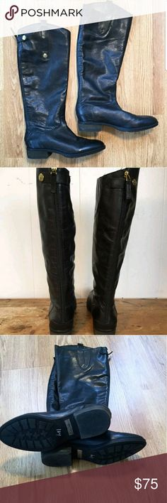 Sam Edelman Penny leather riding boots Women's Sam Edelman Penny leather riding boots size 7 in great condition. Only worn a few times. Sam Edelman Shoes