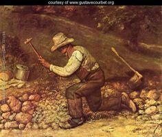 Stonemason - Gustave Courbet - www.gustavecourbet.org