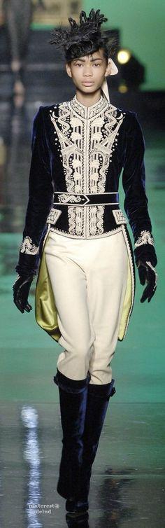Jean Paul Gaultier, Autumn/Winter 2007, Couture