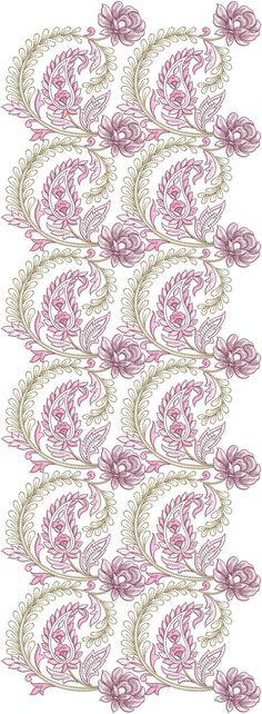 Во всем Butta Design Скачать - часть -1 ~ Embdesigntube Embroidery Neck Designs, Couture Embroidery, Embroidery Saree, Crewel Embroidery, Embroidery Patterns, Motif Design, Fabric Design, Textile Patterns, Print Patterns