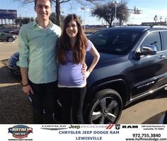 #HappyAnniversary to Joshua Benners on your 2014 #Jeep #Grand Cherokee from Ron Sherrill at Huffines Chrysler Jeep Dodge Ram Lewisville!