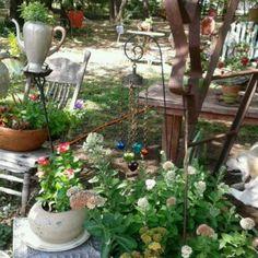 My whimsical garden!