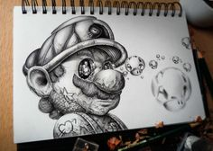 Pencil Drawings Of Famous Cartoon Characters