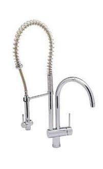 Luxury High Arch Spiral No Lead Kitchen Faucets Top Rating Kitchen - Commercial kitchen faucets with sprayer