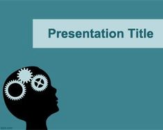 FREE PPT http://www.free-power-point-templates.com/brain-power-point-template/