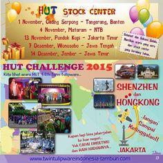 HUT Challenge 2015 & HUT Stockist