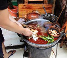 Chengdu / Sichuan street hotpot