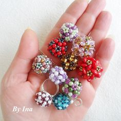 Handful of Ornate Beaded Beads... :) | JewelryLessons.com