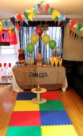 THREElittleBIRDS Events: AFRO CIRCUS-THEMED PARTY