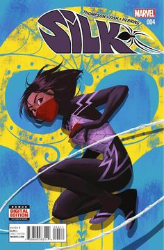 Preview: Silk #4, Story: Robbie Thompson Art: Veronica Fish Cover: Helen Chen Publisher: Marvel Publication Date: February 10th, 2016 Price: $3.99    The...,  #All-Comic #All-ComicPreviews #Comics #HELENCHEN #Marvel #previews #RobbieThompson #SILK #VeronicaFish