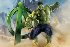 Hulk, The Avenger, Movie Poster by Marvel Comics Graphic Art on Canvas