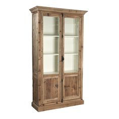 Are you looking for the perfect dining room hutch? I've rounded up a gorgeous collection of wood and reclaimed wood dining room hutch and buffets. Cabinet Furniture, Living Room Furniture, Solid Wood Furniture, Furniture Design, Dining Room Hutch, Glass Cabinet Doors, Glass Doors, Natural Wood Finish, Layout