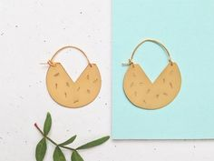From a little studio in Paris, a clever lady handcrafts this architecturally inspired jewellery.