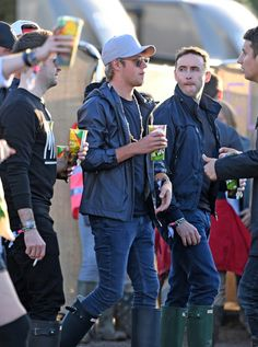 Niall at #Glasto2016 today
