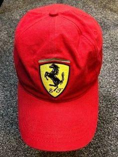 Ferrari Hat Strapback SF Stallion Sewn Patch Offcial Product Adjustable Cap 5c5b51870
