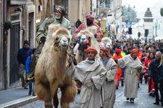 Con l'emozionante arrivo dei Re Magi a dorso di cammello si è conclusa l'edizione 2015 del Presepe Vivente di Tarquinia. Ad accogliere l'arrivo del corteo tantissima gente, che ha affollato le vie e le piazze del centro storico, il 10 gennaio. https://www.facebook.com/media/set/?set=a.1520956578198621.1073741856.1390763734551240&type=3