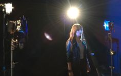 Tournage clip de Romy Production: Videopolis  Réalisateur: Christophe de Lafosse  Directeur Artistique: Angelo Spadaro