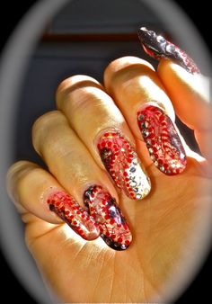 Gel Art with Embedded Lace