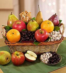 Modesto Valley Fruit & Nut Gift Basket