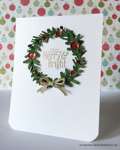 Merry and Bright Christmas handmade card. Used #SSSFAVE Rylynn, Melody, Alexis and Funky Snowflake dies; #SSSFAVE Merry Trees stamp set.