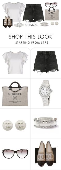 """Chanel"" by christine-sacco on Polyvore featuring Giambattista Valli, Alexander Wang, Chanel and summerstyle"