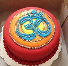 My next birthday cake. I am a yoga teacher. Chocolates, Yummy Treats, Sweet Treats, Yoga Party, Online Yoga Classes, Occasion Cakes, Let Them Eat Cake, Yoga Inspiration, Cupcake Cakes