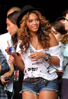 Beyonce. Looking casually amazing at a music festival