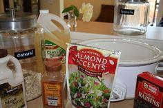 Healthy Crockpot Granola | Little Progress Notes