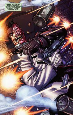 Joker Scarface Carlos D Anda Comic Art Carlos D Anda