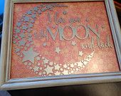 I love you to the moon and back - pinned by pin4etsy.com