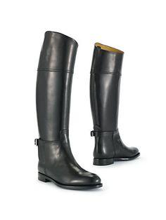 Calfskin Sallen Riding Boot - Collection Shoes  Shoes - RalphLauren.com