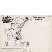 André FRANQUIN 1924-1997 Il mérite un coup de trompe