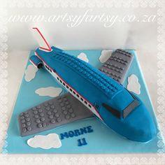 Lego Aiplane Cake #legoairplanecake Airplane Cakes, Cupcake Cakes, Cupcakes, Lego Cake, First Birthdays, Birthday Parties, Party Ideas, Costume, Anniversary Parties