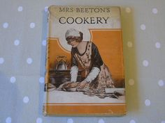 c1920s Mrs Beeton's Cookery with Original Dust Jacket