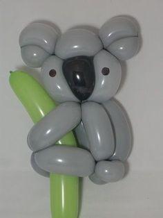 Image result for balloon animal koala bear