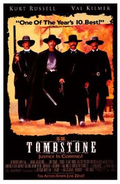 "Val Kilmer/Doc Holliday: ""I'll be your Huckleberry."" This is one of my all time favorite movies!"