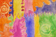 Kindergarten Art with Mrs. Brown