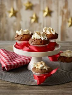 Mini Cupcakes, Cooking Recipes, Desserts, Christmas, Cup Cakes, Food, Drink, Mascarpone, Tailgate Desserts