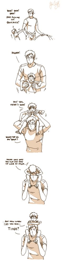 Having a kid like Peter would be so stressful I swear to god, but so adorable and fun at the same time..... /-w-