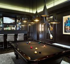 Game room / man cave