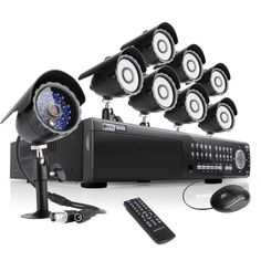 New Arrival! Zmodo 16 Channel All D1 High Profile HDMI SDVR(Super Digital Vidoe Recorder) Security Surveillance Camera System With 8 Sony CCD Sensor CCTV Surveillance Cameras 2TB Hard Drive | Good Camera Brands Dvr Camera, Best Camera, Camera Lens, Cctv Surveillance, Security Surveillance, Outdoor Camera, Up And Running, Night Vision, Digital