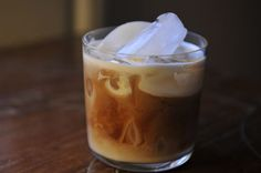 Magical Coffee by ErinH, food52: Mix coarse ground coffee, cinnamon, dark brown sugar and water and allow to sit overnight. Strain. Serve over ice and finish with milk, half and half, or cream.