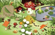 Storyboard, Illustrator, Flora Und Fauna, Simple Shapes, Portrait, Storytelling, Palette, Kids Rugs, Animation