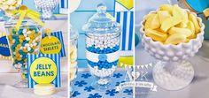 Adrian's Birthday Bananas in Pyjamas - A&K Lolly Buffet Dessert Table Birthday, Birthday Desserts, Party Desserts, Lolly Buffet, Dessert Buffet, Banana Party, Banana In Pyjamas, Pajama Birthday Parties, Second Birthday Ideas