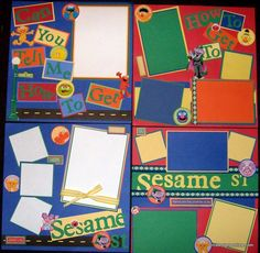 Sesame Street layouts