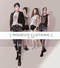 My Sims 3 Blog: Clothing, Hair & Accessories by M1ssduo