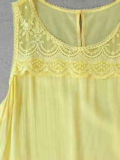 Lace Provence Tunic