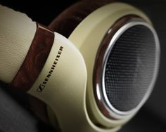 SENNHEISER HD 598 HEADPHONES With BURL WOOD ACCENTS. Nice headphones with clear bass and nice clarity!  #Headphones #Sennheiser #Audio